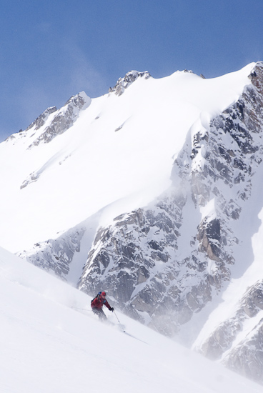 backcountry skiing in the Columbia Mountains