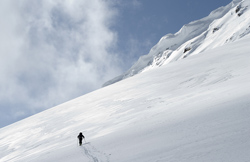 Ski touring in the Purcells